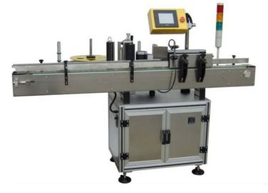 Sticker Electric Automatic Labeling Machine 580W For Small Round Oval Bottles