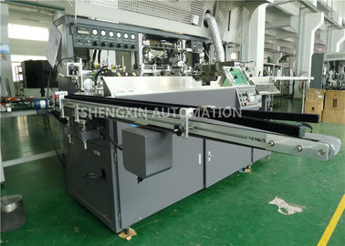 Auto Baby Bottle Screen Printing Machinery With UV Curing / Air Drying